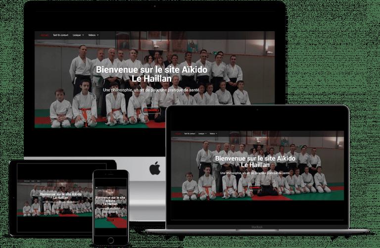 site internet sur multi-écrans